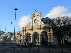 Railway station, Namur, Belgium (Paul McClure DC) Tags: belgium belgique wallonie wallonia feb2018 namur namen ardennes railroad railway historic architecture