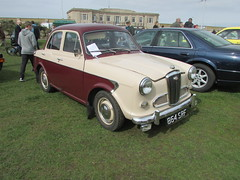 Wolseley 1500 864SRF (Andrew 2.8i) Tags: show classic cars car mare super weston classics westonsupermare british saloon sedan bmc 15 1500 wolseley