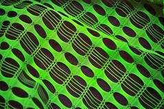 Retro Green (holly hop) Tags: mm macromondays macro green nylon curtain abstract retro vintage pattern texture geometric lines vivid