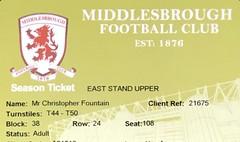 2015/16 (ChrisUTB) Tags: middlesbrough season ticket riverside stadium