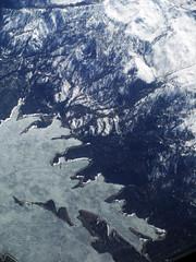 The Beaver Side (Sotosoroto) Tags: aerial snow ice mountains idaho valleycounty deadwoodreservoir lake salmonrivermountains