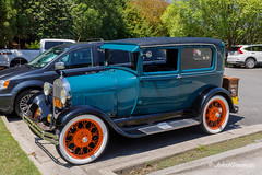 1929 Ford Model A (John H Bowman) Tags: virginia henricocounty parks localparks lewisginterbotanicalgarden cars oldcars 1920scars ford 1929ford fordmodela streetfinds august2018 august 2018 canon16354l