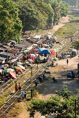 Yangon train ride from Mawlamyine, Myanmar (goneforawander) Tags: backpacking scenery d7100 travel goneforawander myanmar mawlamyine nikon asia enzedonline kawpamagon monstate myanmarburma mm