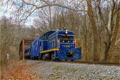 Wilmington & Western 8408 @ Ashland, De. (Twenty17Teen Photography) Tags: wilmingtonwestern ashland delaware trains railroads bridges