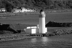 """CAIRNRYAN LIGHTHOUSE, LOCH RYAN, CAIRN POINT, CAIRNRYAN, WIGTOWNSHIRE, SCOTLAND. (ZACERIN) Tags: """"cairnryan lighthouse"""" """"loch ryan"""" """"cairn point"""" """"cairnryan"""" """"scotland"""" """"dumfries and galloway"""" """"wigtownshire"""" """"alan stevenson"""" """"zacerin"""" """"christopher paul photography"""" """"nikon d800"""" """"hdr"""" """"selective colour"""" colour pictures"""" """"hdr pictures in blue"""" """"blue"""" """"1964"""" """"1847"""" """"lighthouses of the uk"""" """"lighthouses"""" """"lighthouse"""" """"pictures ofcairnryan """"history cairnryan """"landscapes"""" """"seascapes"""" """"irish sea"""" """"scottish lighouses"""" scotland"""" sea lighthouses"""" cairnryanlighthouse zacerin christopherpaulphotography"""