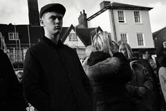 Remembrance Day Nov 11th 2018 (Bury Gardener) Tags: burystedmunds bw blackandwhite britain monochrome mono england eastanglia uk suffolk streetphotography street streetcandids snaps strangers candid candids people peoplewatching folks 2018 nikond7200 nikon angelhill