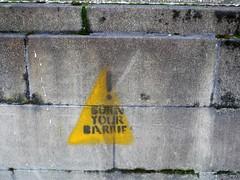 Burn Your Barbies (the justified sinner) Tags: justifiedsinner graffiti barbie burn glasgow scotland panasonic 17 20mm gx7