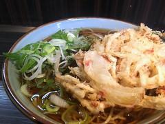 Soba topped with a mixed vegetable tempura from Monju @ Asakusa (Fuyuhiko) Tags: soba topped with mixed vegetable tempura from monju asakusa 蕎麦 そば ソバ 天ぷら 天婦羅 かき揚げ 浅草 文殊 東京 tokyo