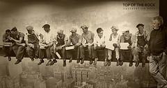 New York 14 (Eloy Rodríguez (+ 7.000.000 views)) Tags: rockefellercenter topoftherock rokefeller obsevatory observationdeck obreros workers fotoantigua roosseveltisland qeensborobridge eastriver rooseveltislandtramway skyline skyscraper centralpark newyork bowbridge strawberryfields bethesdafountain themall dakotabuilding thesanremobuilding umpirerock cine arquitectura unitedstates us usa jardines reflejos monumentos monuments exposiciones jardín estanque barcas metrópolis otoño coloresdeotoño autumn autumncolors park parque arbol cielo hojas eloyrodriguez gettyimages potd:country=es monocromo