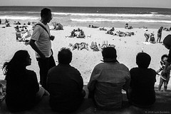 at the beach, Manly, Sydney 2018  #633 (lynnb's snaps) Tags: apx100 rodinal xa4 film 2018 olympusxa4 zuiko28mmf35macro bw pointandshoot agfaapx100 manlybeach sydney australia coast blackandwhite bianconegro biancoenero blackwhite bianconero blancoynegro noiretblanc schwarzweis monochrome ishootfilm people street sunbaking sunbakers sand ocean waves horizon sunny ©copyrightlynnburdekinallrightsreserved