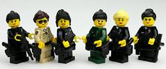 Female Law Enforcers! (Brick Police) Tags: lego police stocktonpolice lvmpd lapd modestopolice ocsd sfpd minifigure femalepoliceofficer