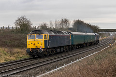 47812 at Abbotswood [5V84] 16.12.2018 (Wolfie2man) Tags: 47812 47815 railoperationsgroup abbotswoodjunction 5v84 class47 duffs spoons