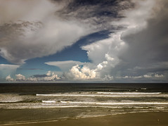 """The Tide is High""... (RansomedNBlood) Tags: fl florida daytona beach ocean clouds"