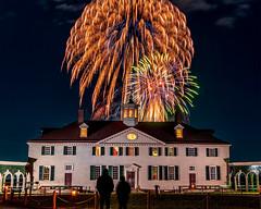 Mount Vernon Illumination #1 (jcernstphoto) Tags: christmas fireworks holidays mountvernon georgewashington virginia alexandria night