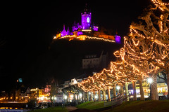 Castle (Marcel Wetter) Tags: castle beginner light dark night winter flickr nikon nikonphotography city mosel landscape