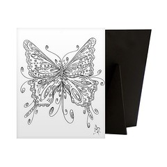 Beautiful Butterfly - Relieve stress while creating art for your walls with a Coloring Canvas. Each piece is printed on high quality canvas and then mounted to sturdy solid frame to ensure a comfortable surface for coloring.   Check out our website: https (spaceplug) Tags: blackwhite canvas art shop mood spaceplug buy sell wallart like4like photo canvasdem fineart yourownart cute createart nice beautiful followus butterfly coloring photography fashion follow4follow
