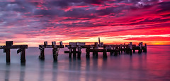 Jurien Jetty Burning (jamesfultonphotography) Tags: jurienbay westernaustralia