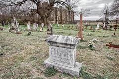 St. Dominic's Church in Old D'Hanis & Cemetery (J Centavo) Tags: st dominics church old dhanis cemetery alexanderhoffmann bordininbohemia killedbyindiansinuvalde county march231860firstsheriffofbanderacounty texas