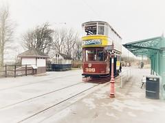 Leeds 399 (hougtimo88) Tags: trams tram heritagetram tramway crichtramway crich leeds399