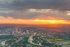 Calgary, Alberta sunset (Erinn Shirley) Tags: erinnshirley calgary alberta yyc sunset landscape cityscape