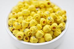 LEGO Minifigs heads - atana studio (Anthony SÉJOURNÉ) Tags: lego minifigs heads brick afol moc creator atana studio anthony séjourné