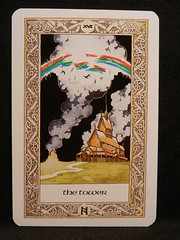 The Tower. (Oxford77) Tags: tarot thenorsetarot norse viking vikings cards card tarotcards
