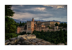 Alhambra Sunset (Olivier Faugeras) Tags: andalousie espagne granada grenade unesco worldheritage spain pentax