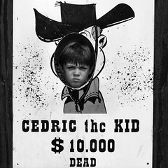 The Kid (cédriccourcelles) Tags: blackwhite western wanted kid
