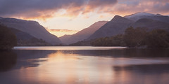 Llyn Padarn Sunrise (AMBIENTLIGHT.PHOTOGRAPHY) Tags: llynpadarn llanberis snowdonia wales britain uk lake sunrise reflection dawn mountains