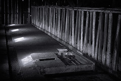 20140621_barn_interior (petamini_pix) Tags: pointreyes marincounty marin california blackandwhite blackwhite bw monochrome grayscale nationalseashore pierceranch barn rural old building farmbuilding architecture dappledlight hdr moody