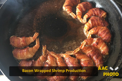 "Bacon wrapped shrimp prep • <a style=""font-size:0.8em;"" href=""http://www.flickr.com/photos/159796538@N03/44160963020/"" target=""_blank"">View on Flickr</a>"