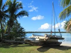 Canoes of Baie de St Joseph