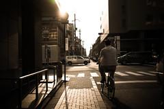 L1005054 (kaichung) Tags: street leica leicamp leicasummicron35mmf20 35mmf20 japan city cityscape architecture cityofjapan citylight streetphotography streetpeople streetleica monochrome blackwhite blackandwhite kyoto 窗戶 人 建築物 路 單色 京都