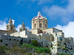 Mdina, Malta. (Keith in Exeter) Tags: mdina malta silentcity walledcity city building architecture medieval ancient baroque cathedral church