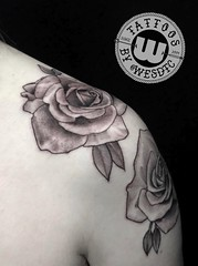 Tattoo by Wes Fortier at Burning Hearts Tattoo Co. - Waterbury, CT. • @wesdtc on Instagram • www.burningheartstattoo.com