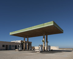 A gas station in the middle of nowhere. (Karim Achalhi) Tags: lifestyle sony ilce7rii carlzeiss lifestreet lifeofadventure hardlife sky adventure documentary photojournalism streetphotography streetscene lonelyness discovering discoverearth mysteryland morocco gasstation station gas