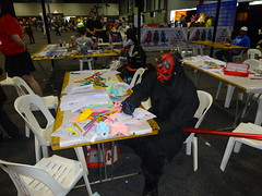 He may be evil but he never colours outside the lines (Sconderson Cosplay) Tags: supanova adelaide 2018 cosplay saturday showground star wars darth maul dathomir sith