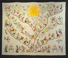 Otomi Embroidery Mexico Tenangos Textiles (Teyacapan) Tags: bordados otomi hidalgo tenangodedoria mexican textiles embroidery museum
