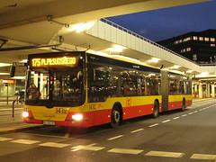 MAN NG363 Lion's City G, #3432, MZA Warszawa (transport131) Tags: bus autobus man ng363 lions city mza warsaw ztm wtp