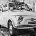 Vintage Fiat 500 in  Palazzolo Acreide