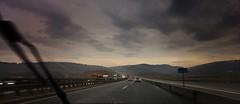 Ab in den Urlaub! (Maquarius) Tags: autobahn regen scheibenwischer düster bewölkt lkw sichtbehinderung würzburg sauwetter