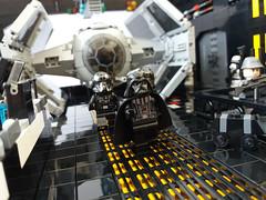 MOC-Vader's Personal Tie Advanced Hangar