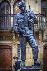 Lest we forget: Durham Light Infantry Memorial statue (by Alan Herriot) @ Durham Market Place - Durham, England, UK (Paul Diming) Tags: pauldiming coloursergeantbrandonmulvey england winter greatbritain durhamengland city durham sculpture unitedkingdom durhamuk 2018uk britain dailyphoto durhamgb alanherriot countydurham d7000 northeastengland uk statue gb