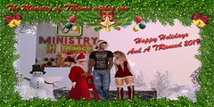 Happy Hollidays from Ministry of TRance (Ministry SL's Purest Trance Club) Tags: christmas trance holidays music fun red white snow