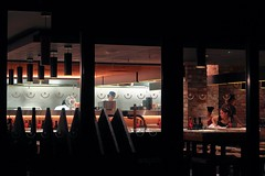 wagamama (No_Mosquito) Tags: night restaurant people wagamama uk guildford england canon powershot g7xmarkii interior lighting urban asian