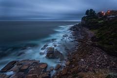 Avalon Blue Hour (RoosterMan64) Tags: australia avalon dawn nsw northernbeaches rockpool rockshelf seascape sunrise