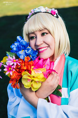 Shiemi Moriyama (杜山 しえみ) (BTSEphoto) Tags: cosplay costume play コスプレ convention anime banzai layton utah davis conference center fuji fujifilm xt2 portrait flashpoint ttl pocket flash evolv 200 r2 godox a200 shiemi moriyama 杜山 しえみ blue exorcist no ao 青の祓魔師 fujinon xf 35mm f14 r lens