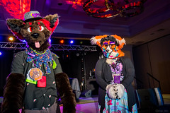 DSC09042 (Kory / Leo Nardo) Tags: pacanthro pawcon paw con pac anthro convention fur furry fursuit suiting mascot sona fursona san jose doubletree hotel california dance party deck animals costuming pupleo 2018