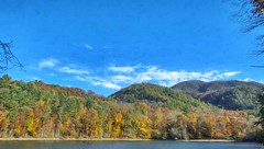 Lake View 35 (Steve4343) Tags: steve4343 nikon 7200 appalachian trail cherokee national forest red green blue yellow orange white clouds sky beautiful tennessee autumn beauty county lake watauga cloud colorful woods garden gardens happy leaves rocks wildlife landscape mountain tree trees grass water wood summer spring macro flower flowers at 35 carter hampton