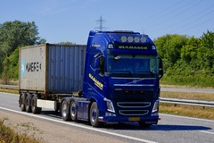 AH79529 (18.07.03, Motorvej 501, Viby J)DSC_3898_Balancer (Lav Ulv) Tags: 254215 volvo volvofh fh4 guldagertransport guldager henrikguldager 2013 e5 euro5 6x2 container maersk afmeldt2018 retiredin2018 abgemeldet2018 blue fh500 firstclass truck truckphoto truckspotter traffic trafik verkehr cabover street road strasse vej commercialvehicles erhvervskøretøjer danmark denmark dänemark danishhauliers danskefirmaer danskevognmænd vehicle køretøj aarhus lkw lastbil lastvogn camion vehicule coe danemark danimarca lorry autocarra danoise vrachtwagen trækker hauler zugmaschine tractorunit tractor artic articulated semi sattelzug auflieger trailer sattelschlepper vogntog oplegger sættevogn motorway autobahn motorvej vibyj highway hiway autostrada